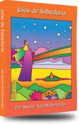 Cover of Joias de Subedoria - Gems of Wisdom by Swami Satchidanand in the Portuguese language